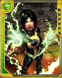 Superia became the leader of H.A.M.M.E.R. while Norman Osborn was incarcerated. She hatched a plot to break him out of the Raft, and it was initially successful. Her ultimate goals were only thwarted when Skaar was revealed to be a double agent within her team of Dark Avengers, actually fighting on behalf of the Avengers and the remnants of S.H.I.E.L.D..