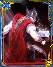 When he was young, Thor was a braggart and a bit of a bully. He would gladly challenge all comers to battle, and be proudly boasted of his many victories.