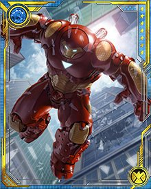 During Hulk's revenge-fueled attack on Earth, Tony Stark unleashed a new version of the Hulkbuster armor.