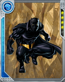 The scion of the Panther Clan traditionally rules Wakanda, and T'Challa embodies the strength, intelligence, and ferocity of his totem animal.