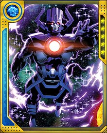 Traveling to a parallel version of our universe, Galactus encountered one of his multiversal counterparts—the Gah Lak Tus swarm of world-destroying drones. These drones originally targeted Galactus for destruction, but ended up merging with him and becoming his new heralds.