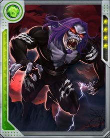 Blood thirsty Morbius uses his superior strength, hypnotism and immunity from traditional vampire weaknesses to hunt humans.  His blood thirst has resulted in battles with both Spider-Man and Blade.