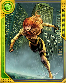 The first mutant born since M-Day, Hope Summers immediately became a target of both anti-mutant zealots and mutants from timelines in which her birth caused dystopian futures. One of these mutants, Bishop, pursued her doggedly from his future, and her life was only saved by the intervention of Cable, who would alter adopt her.