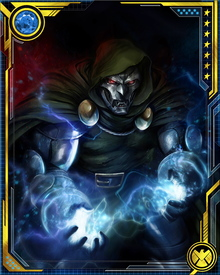 He succeeded in taking over Latveria while taking an interest in the welfare of the Roma.  Doom creates and maintains an automaton army of Doombots to protect his interests.