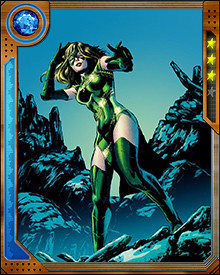 An inter-dimensional pirate who took an interest in this world because she was hunting Wolverine, Chimera remained here and became a member of the Sisterhood of Mutants.