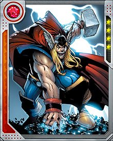 When the Avengers-X-Men war was over, Thor became one of the members of the Avengers Unity Squad, brought together to heal the rifts between mutant and human. He remained with this group until the murder of Uatu the Watcher.