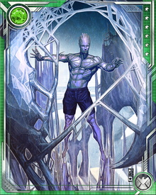 Iceman briefly lost his powers in the aftermath of House of M, but like a number of other mutants he discovered that this loss was reversible.