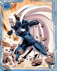 Blue Marvel was brought back into the public eye when one of the Serpent's guardians caused a submarine to crash into his base. He linked up with the Avengers later, while they battled Thanos and the Cull Obsidian, and has begun to take a more active role once again. The ongoing matter/antimatter reaction in his body grants him physical powers sufficient to allow him to challenge the most dangerous beings in the universe, including the Sentry.