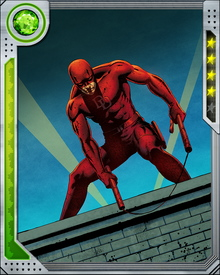 Daredevil will do anything to protect the people of Hell's Kitchen. He fights against worldwide and cosmic threats as well, but his heart is on Tenth Avenue, and the battles that mean the most to him are local.