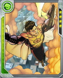 Hellrung played Stark on television at one point, and consulted with him regularly on the Initiative. His powers include flight and the ability to tap thermokinetic energy equivalent to a thunderstorm.