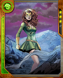 Jean Grey was the first Marvel Girl. She picked up the moniker during her younger days as part of the X-Men, while under the tutelage of Professor X in Xavier's School for Gifted Youngsters.