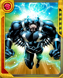 Black Bolt's insane brother Maximus discovered that Inhumans and humans were fundamentally the same race. Maximus tried to keep humans away from Attilan. He also tried to usurp the throne from Black Bolt and marry Medusa.
