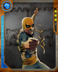 Iron Fist has been a member of the Thunderbolts and the New Avengers.  However he retains a special connection with Luke Cage and Daredevil.