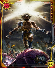 When Wolverine teamed with the Avengers, his ability and experience contributed greatly to the team.  Wolverine is often the first into a fight - sometimes with bad results for the team.