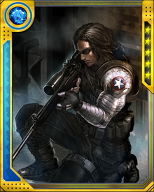 The Winter Soldier's cybernetic arm is capable of motion on its own if it is detached from his body. He is also a hand-to-hand combatant capable of fighting Iron Man and Captain America to a standstill, and an assassin without peer.