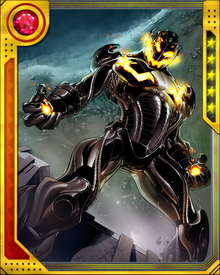 Ultron can deploy copies of itself and also shift its primary programming sentience among them. Destroying a physical Ultron is no guarantee whatsoever that you have done any damage to Ultron itself.
