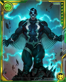 As a member of the Illuminati, Black Bolt is one of the leaders of the response to the apocalyptic Incursion threat. He is loath to destroy other Earths to save this one, although at times that seems to be the only path to survival.