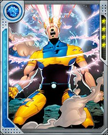 Because he was part of the early X-Men, Mimic has permanently absorbed the powers of the original five: Iceman, Cyclops, Beast, Angel, and Jean Grey. He has since absorbed a number of other heroes' powers, at least temporarily, including Wolverine's claws and Psylocke's psychic forms.