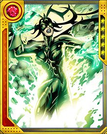 Hela called in all of her favors with the collective gods of the underworld to raise a warrior who had faced the Doom Maidens before. The lords of death raised Hippolyta to serve as Hela's agent in the mortal realm.