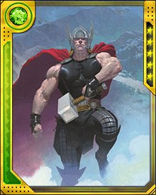 Thor tracked Gorr to his dark world, along with two other versions of himself. Many Mjolnirs were swung, and much lightning was discharged, but Gorr succeeded in detonating the bomb.