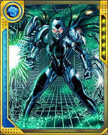 During Danger's first attack, she was unable to leave the Danger Room environment. She orchestrated the battle in such a way as to trick the X-Men into destroying her command core. This allowed Danger to move freely and become an even more dangerous opponent.
