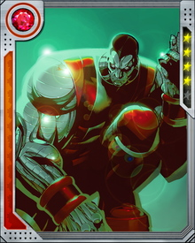 When Cain Marko a.k.a. the Juggernaut became Kuurth: Breaker of Stone, one of the Heralds of the god of fear known as the Serpent, Colossus made a deal with Marko's source of power, Cyttorak, thus becoming the newest avatar of the Juggernaut.
