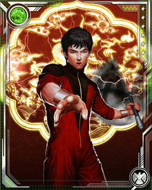 In addition to the physical dimension of his martial-arts prowess, Shang-Chi has honed his chi powers to the extent that he is effectively able to grant himself superpowers for short periods of time. His mastery of chi enables him to dodge bullets and detect nearby individuals disguised by invisibility or psionic means.