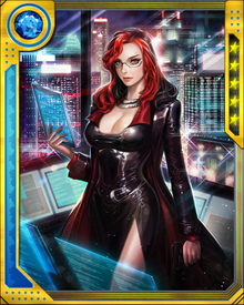 A ruthless operator and agent, Hand believes—as, most of the time, Osborn does too—that she is acting in the best interests of the people she is supposed to protect. She was aboard Osborn's Helicarrier making sure the Siege of Asgard ran smoothly, but escaped before Tony Stark destroyed that Helicarrier by ramming it into the Void.
