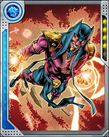 The Ka-Stone grants Sphinx vast superhuman powers. He is considered a cosmic level threat, and he possesses superhuman strength, invulnerability, flight, and vast energy manipulation abilities.