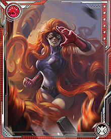 Medusa is the primary interpreter for her husband Black Bolt, since he can't speak and it is often necessary to communicate his wishes. This makes her a critical member of any Inhuman mission among normal humans who cannot telepathically understand what the Inhumans might say among each other.