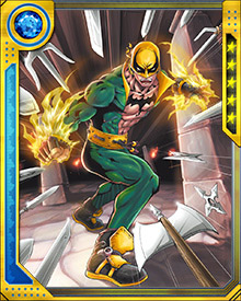 Iron Fist eventually led five of the Immortal Weapons—including Fat Cobra, Bride of Nine Spiders, Tiger's Beautiful Daughter, Dog Brother Number 1, and The Prince of Orphans—out of the mystic realm and into Earth so that they could learn about the world.