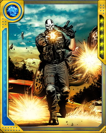 Crossbones had a hand in the assassination of Captain America after the super hero Civil War. Some of his other notable targets have been Gambit and Kingpin.
