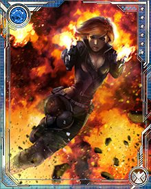 After the Civil War, in the chaos leading to the formation of the Dark Avengers, Black Widow became temporary director of S.H.I.E.L.D.. She then joined a new team known as the Mighty Avengers while also leading S.H.I.E.L.D.'s battle against Ultron.