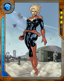 Formerly Ms. Marvel, Carol Danvers has become Captain Marvel again in the aftermath of the Avengers' battle with the X-Men over the returning Phoenix Force.