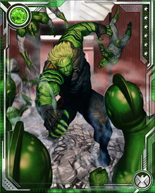 As a Kree-Skrull hybrid, Hulkling wields various powers and attributes of both races, chief among them his remarkable shape shifting ability. He has been able to impersonate famous heroes including Tony Stark, Mr. Fantastic, and the Human Torch. He's even been able to replicate the elasticity of Mr. Fantastic.