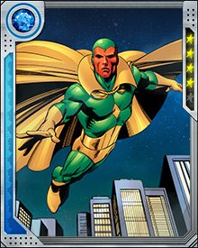 After leaving the core Avengers team, Vision became a founding member of a new team known as Avengers A.I., under the direction of Hank Pym. The other members were Victor Mancha, Monica Chang, and a Doombot with new programming.