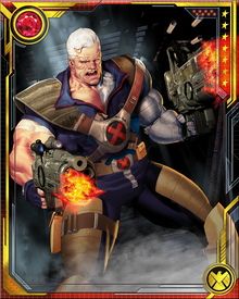 As a small child, Nathan became the focus of a battle between Mr. Sinister and Apocalypse, which culminated in Apocalypse infecting the boy with the techno-organic virus. Knowing the virus would kill his son, Cyclops allowed Clan Askani to take Nathan to the future in return for their promise to cure him. Another mysterious mutant active in these battles was known only as Cable. This turned out to be the adult version of Nathan, returned to the time of his birth to protect his younger self.