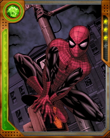 Spider-Man keeps his focus on the neighborhoods and streets of New York, even when interstellar threats loom. He'll fight aliens, but he'll do it in his city because that's where his responsibility lies.