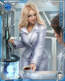 She may not be the flashiest member of the Fantastic Four, but many believe she is by far the most powerful. The versatility of her hyperspace energies allow Sue to be a defensive or offensive force to be reckoned with.