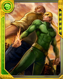 Iron Fist and Luke Cage have partnered on a number of adventures over the years since they first started calling themselves the Heroes for Hire. Norman Osborn brainwashed Rand in an attempt to get him to kill Luke Cage, but even that tactic couldn't erase the loyalty the two felt for each other, and Iron Fist helped Cage escape instead.