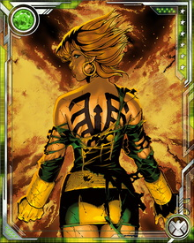 Haunted by her past, Rachel has gratefully embraced her chance to redeem herself by joining the X-Men—both in the role of Marvel Girl and simply under her own name. Because of her mother, she is able to handle the Phoenix Force better than most other mutants, which has proven crucial to the survival of the X-Men more than once.