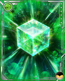 Fuse a U Rare Wasp Speed (or a U Rare Wasp all-alignment) card with this Cosmic Cube to obtain the fused version of the base card. The resulting card has the same stats (including mastery) as a card obtained by fusing two identical versions of the base card.