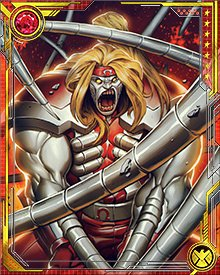 "Of the Omega Team, the new Omega Red bears a close resemblance to his namesake, both in terms of appearance and attitude. Like Omega Black and Omega White, Red's memories have been modified, and he was ""born"" with an intense hatred of X-Force."