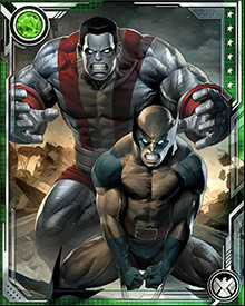 Colossus is known for his aversion to violence, Wolverine for his love of it. Together, they often pull off a move known as the Fastball Special, in which Colossus throws Wolverine great distances to get him to a critical target before the enemy can react.