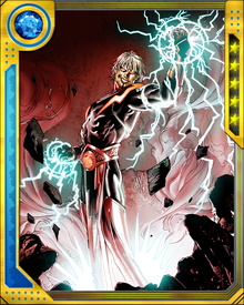 Warlock discovered a powerful cosmic destiny involving Thanos and the Soul Gem, but it came at the cost of his life once it was discovered that he and the tyrant Magus of the Universal Church of Truth were one and the same person.