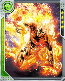 Johnny Storms ability to ignite and control flame is limited by the quantity of oxygen available in the environment.