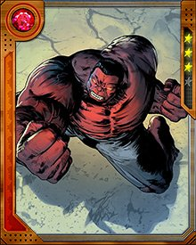 When Doc Green, a version of the Hulk, tried to cure Red Hulk of the gamma radiation that drove him close to madness, Red Hulk hid out in the Yucca Mountain nuclear waste facility. The radiation from the waste kept his powers strong, and kept him ready to face Doc Green and his team.