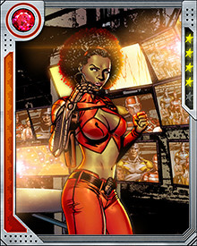Her bionic arm gets most of the attention, but Misty Knight's two greatest weapons are her mind and her will. She's as sharp as they come, especially when anticipating what a villain or criminal will do next... and once she's on your trail, she doesn't give up.