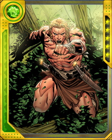 Any threat to the Savage Land is a threat to me as its protector. No human and no alien may endanger this place or its people without suffering the consequences. Zabu, Shanna, and I will make sure of that.