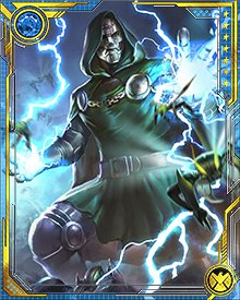 In the end, all will kneel before Doom. Heroes will fall and the citizens of the world will learn to honor the rule of Victor Von Doom!
